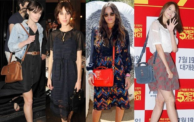 Celebrities Love Mulberry Bryn Bag