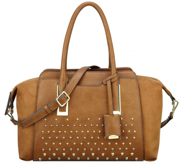 handbag con borchie nine west