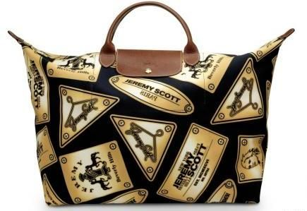 Borse Jeremy Scott: Le Pliage Bag Pills per Longchamp ...