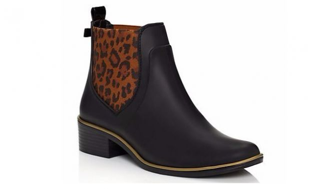 Chelsea boot animalier Kate Spade