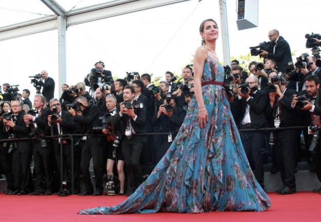 Charlotte Casiraghi look Cannes 2015