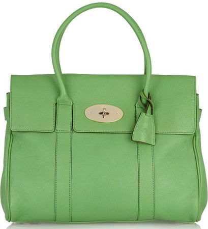 Mulberry Bayswater Textured leather Bag