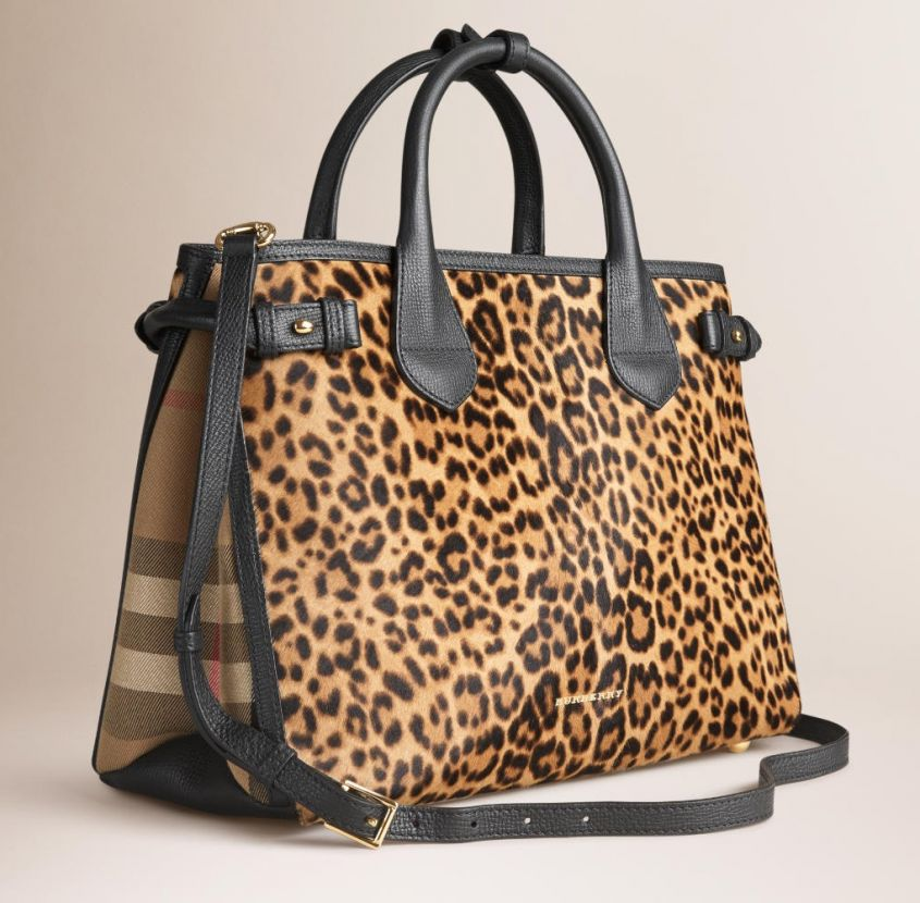 The Banner animalier Burberry