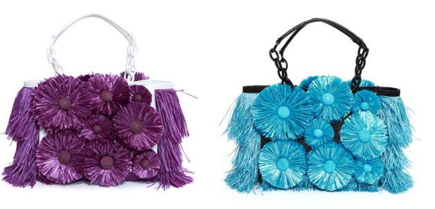blumarine fancy bag colorate