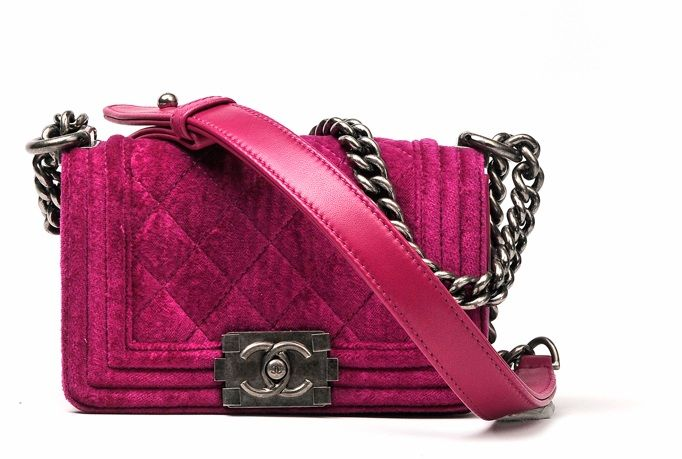 chanel 2013 mini bag fucsia