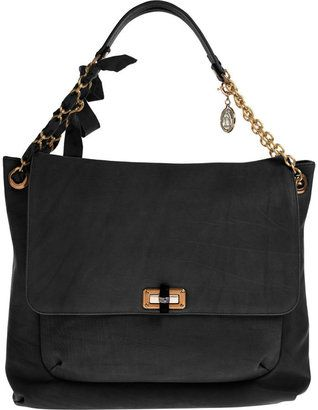 lanvin happy bag nera