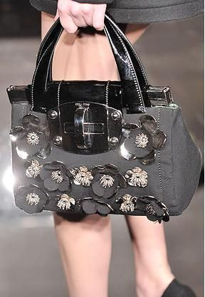 Miu Miu Pearl Flower Bag