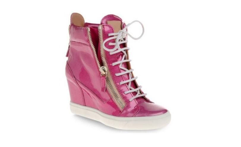 zanotti sneakers donna pre fall colorate rosa