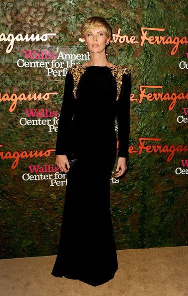 Charlize Theron In Alexander McQueen