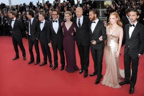 cannes 2012 lawless red carpet cast