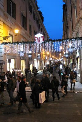 via dello shopping romana