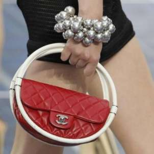 Mini bag Chanel rossa