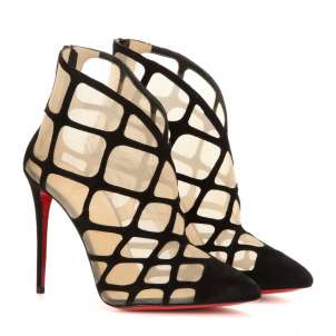 Ankle boot Christian Louboutin mesh