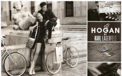 Hogan by Karl Lagerfeld: anteprima advertising p/e 2011