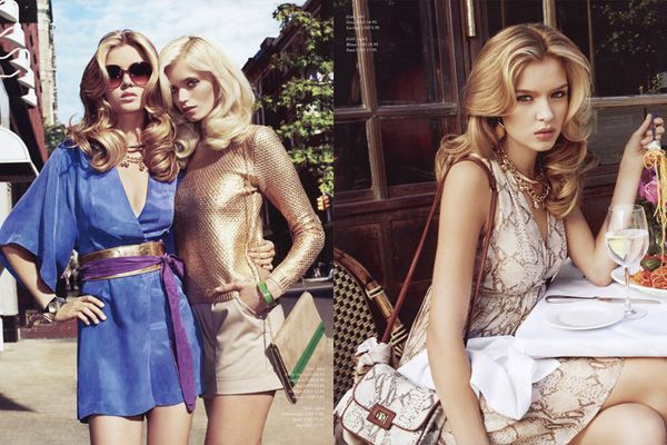 Abbey Lee Kershaw Josephine Skriver for HM