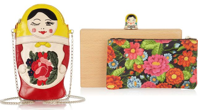 Charlotte Olympia Russian Clutches