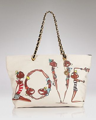 Love Moschino Shopper love