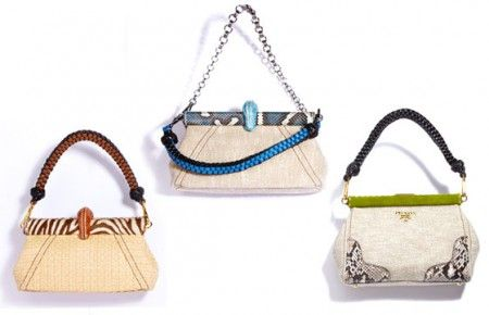 Prada Resort 2011 handbags