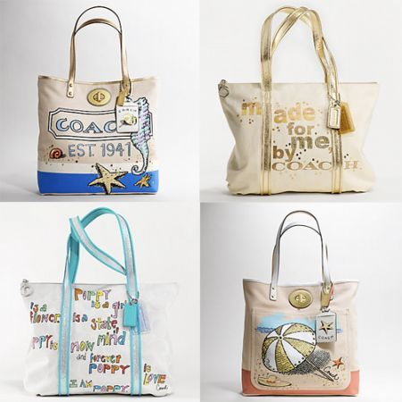 Le Beach Bag di Coach per l'estate 2010