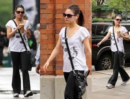 mila kunis and rebel yell high on music flutter sleeve tee gallery