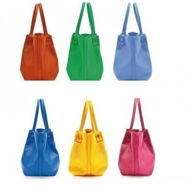 serapian secret shopping bag colorate