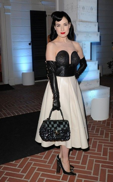 dita von teese louis vuitton
