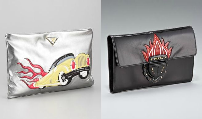 prada car clutch