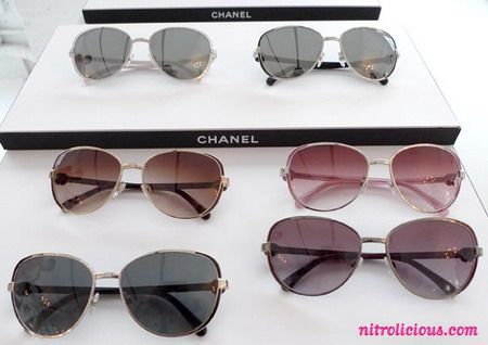 chanel occhiali da sole autumn 2010