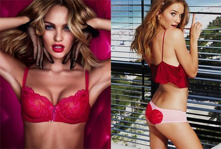 collezione 7 sides of the sexy per san valentino by victoria's secret