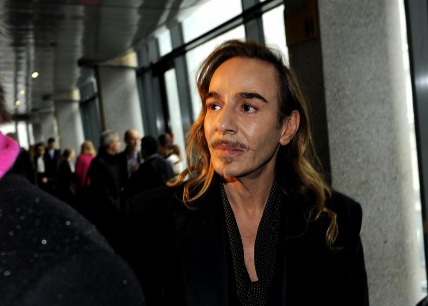 John Galliano in tribunale a Parigi