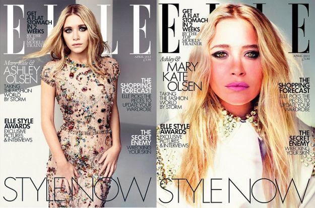 ashley mary kate olsen dolce gabbana elle