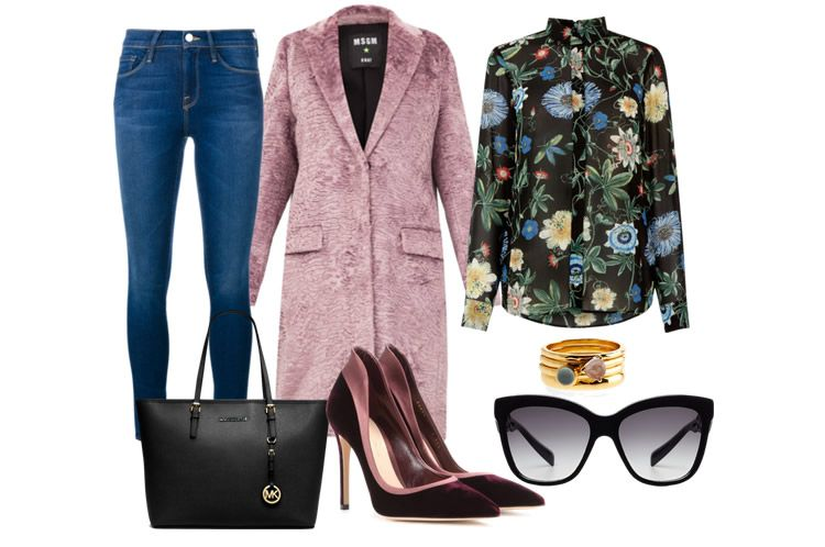 Copia il look delle it girl: lo stile floreale casual chic