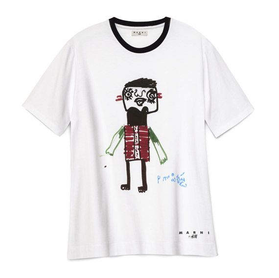 t shirt marni for h m