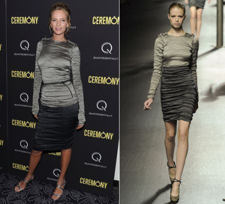 uma thurman in lanvin