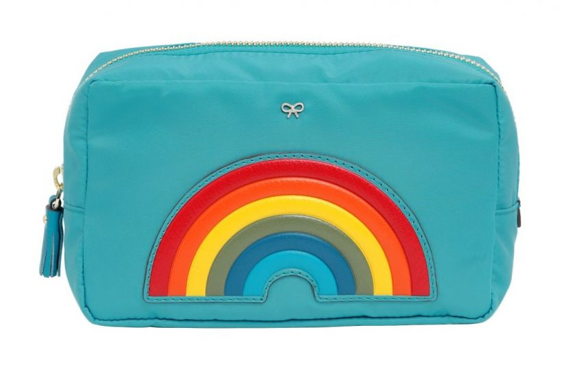 Beauty case arcobaleno Anya Hindmarch