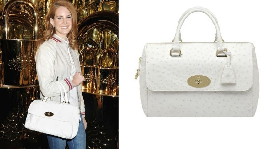 Lana Del Rey Mulberry Bag