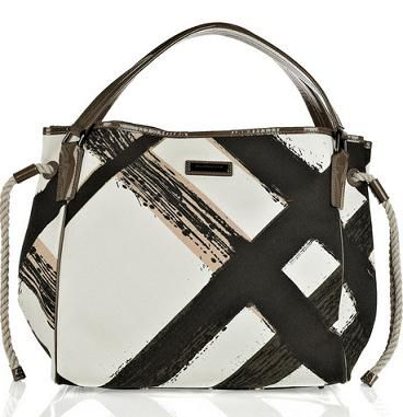 burberry printed canvas tote