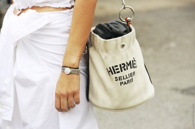 hermes sellier paris canvas bag