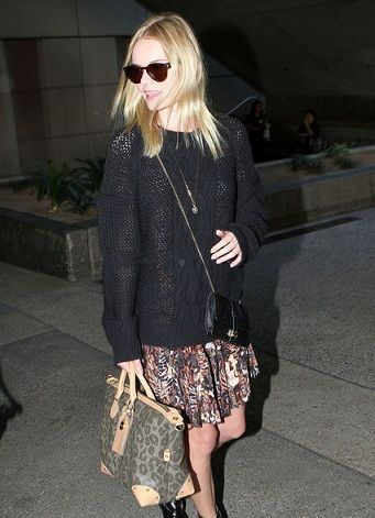kate bosworth mulberry leopard print tote black