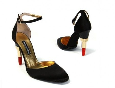 Alberto Guardiani Lipstick Court Shoes
