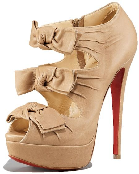 Madame Butterfly Bootie Christian Louboutin
