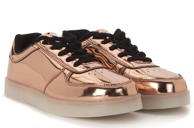 Sneakers Wize and Ope oro rosa