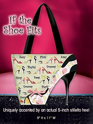 scarpe e borsa if the shoe fits handbag