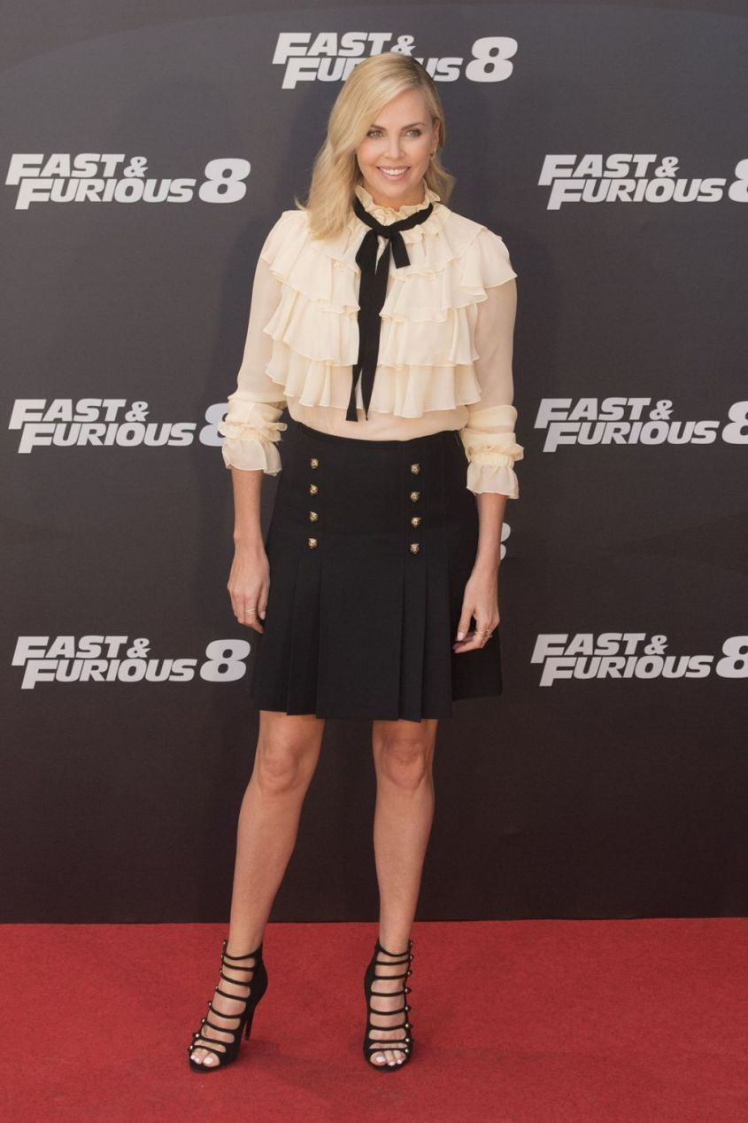 Charlize Theron in Gucci