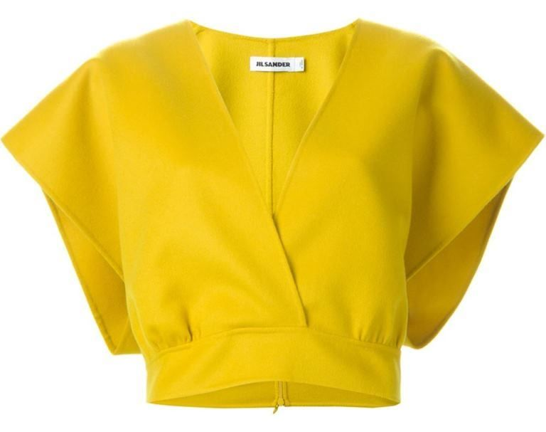Jil Sander crop top