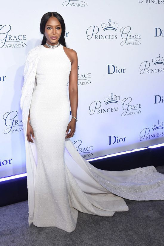 Naomi Campbell in Ralph And Russo