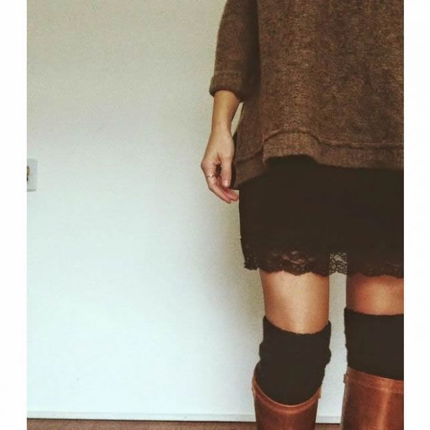 Outfit invernali gonna
