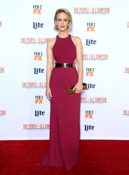 Sarah Paulson in Stella McCartney