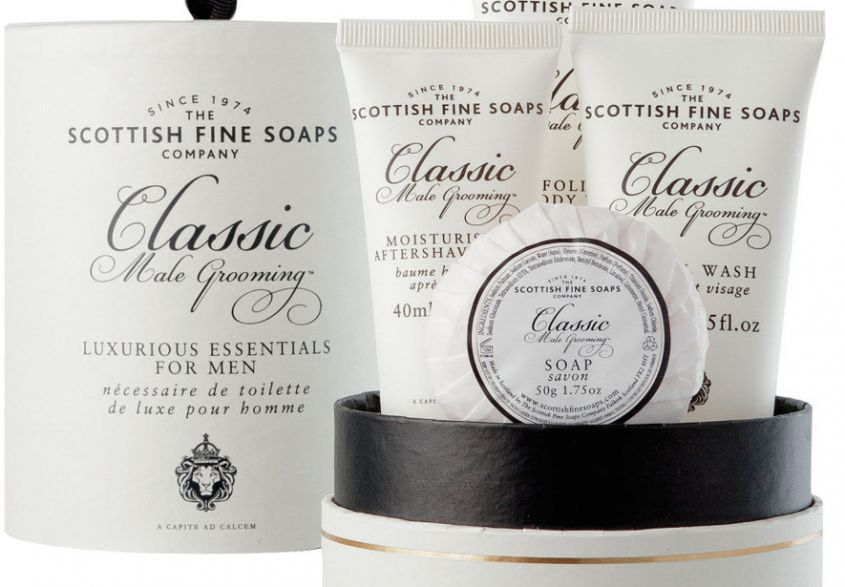 Scottish Fine Soaps cofanetto corpo uomo