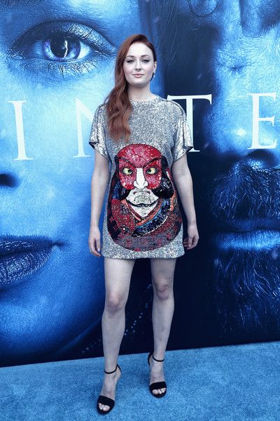 Sophie Turner in Louis Vuitton